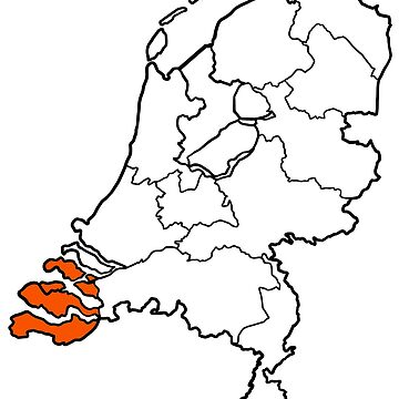ZEELAND - provincie van Nederland (province of The Netherlands) by From-Now-On