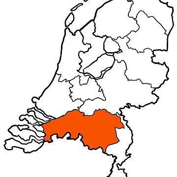 NOORD-BRABANT - provincie van Nederland (province of The Netherlands) by From-Now-On
