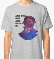 Alone Protects Me Classic T-Shirt