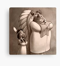 Chiefs Daughter Canvas Print
