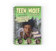 Teen Wolf Old Comic Spiral Notebook