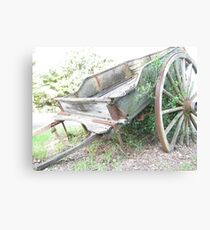Wagon. Canvas Print