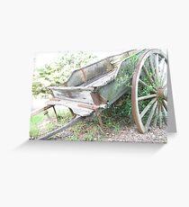 Wagon. Greeting Card