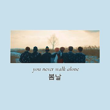 BTS 방탄소년단-Spring Day 봄날-You Never Walk Alone  by Hilaarya