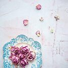 Saucer of Roses by Tamsyn Morgans