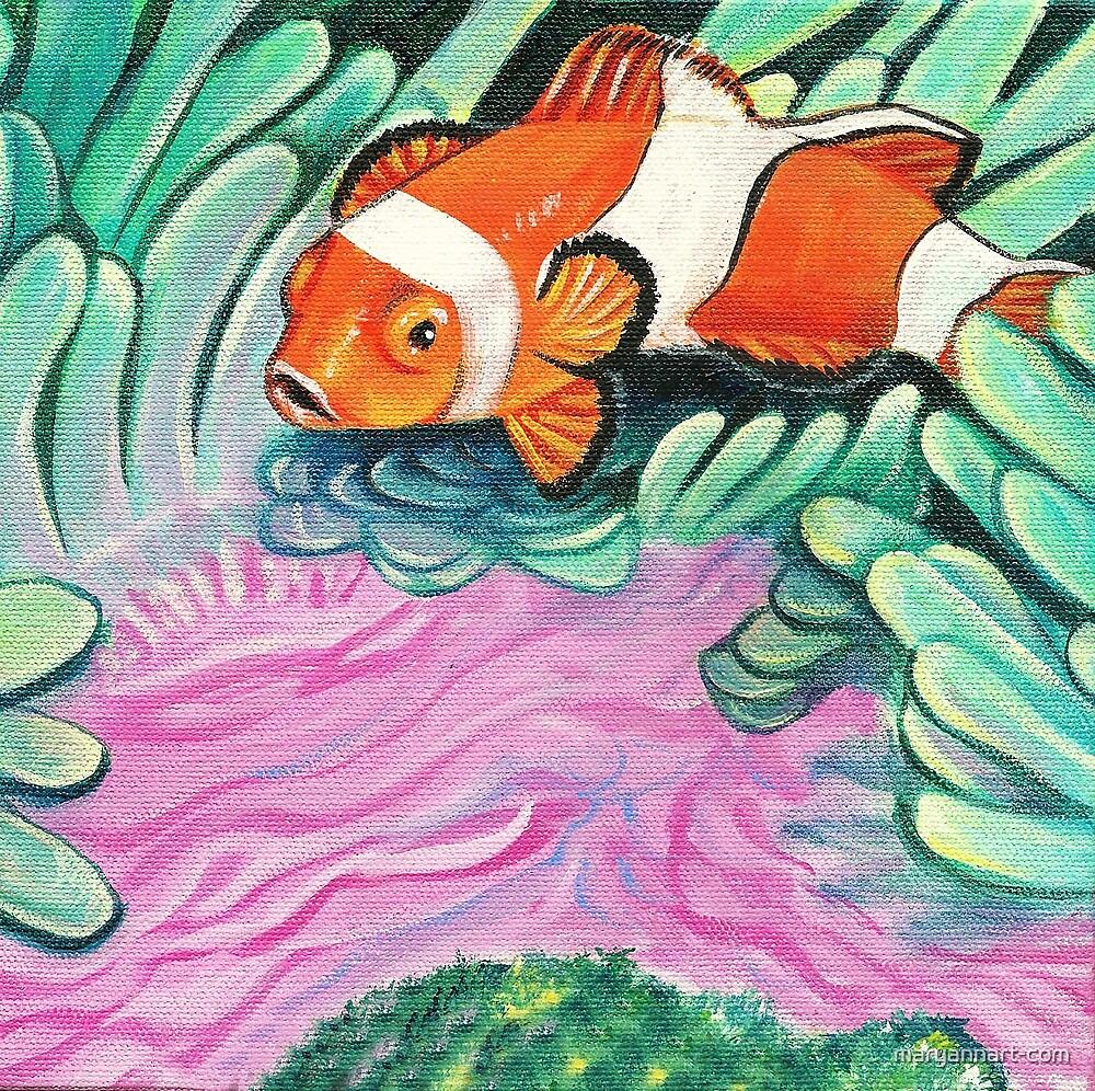 Clown Fish by maryannart-com