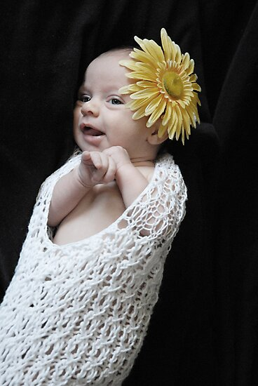 Flower Baby by Dawn Mahaney