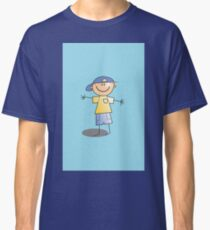 Boy in Cap by Chillee Wilson Classic T-Shirt