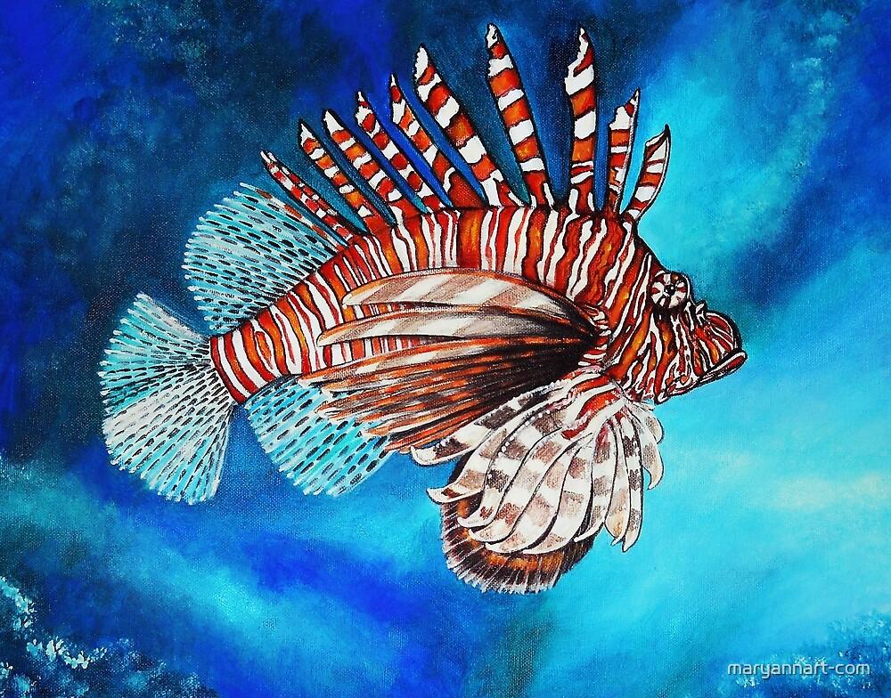 Scorpion Fish by maryannart-com