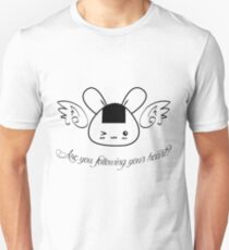 """DTP """"Are You Following Your Heart?"""": Shirt / Pouch / Print / Laptop Skins Unisex T-Shirt"""