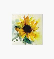 sunflower Art Board Print