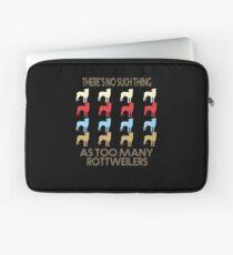 Rottweiler Dog Retro 1970's Style Laptop Sleeve