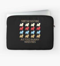 Westie Dog Retro 1970's Style Laptop Sleeve
