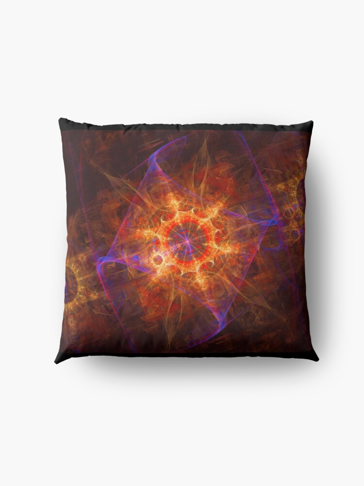 Alternate view of A Star to Light Your Way Floor Pillow