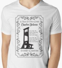 A Tale of Two Cities Men's V-Neck T-Shirt