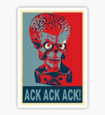 Ack Ack Ack! Sticker