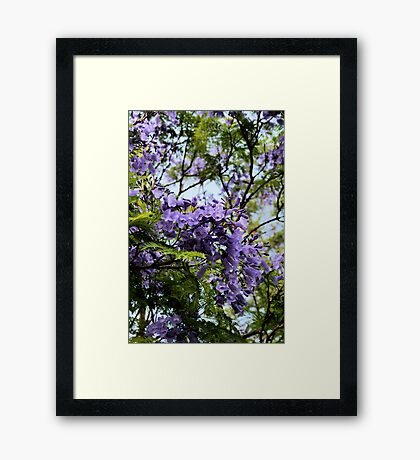 Bloom in STYLE Framed Print