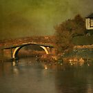 Bridge over the Canal  by Irene  Burdell