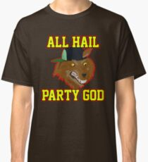 All Hail Party God - Adventure TIme Classic T-Shirt