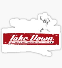victory takedown Sticker