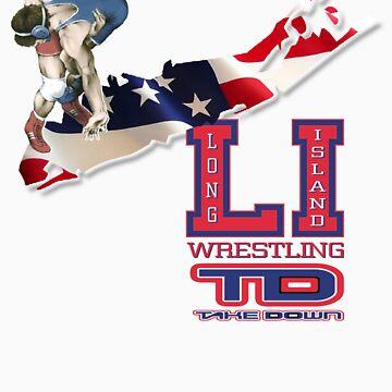 long island wrestler by takedown