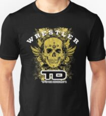 gold wings wrestler T-Shirt