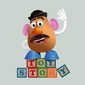 Toy Story - Alternative Movie Poster by MoviePosterBoy