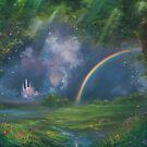 A Kingdom Away Fantasy Painting by Erica Kilbourn