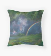 A Kingdom Away Fantasy Painting Throw Pillow