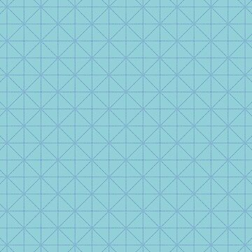 Dotted line grid seamless vector pattern in green and blue by limengd
