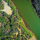 Lake Bunga from Above... by Tracie Louise