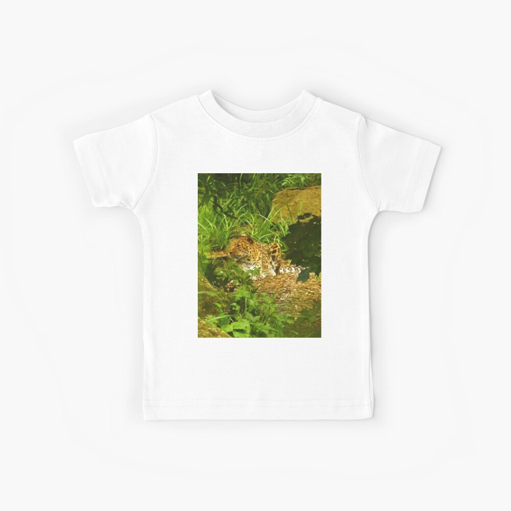 Mutige Musterpunkte - Glatte Wildkatze - Der Gepard Kinder T-Shirt