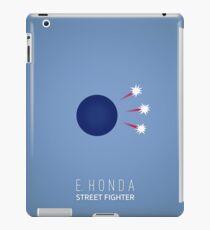 Street Fighter - E. Honda iPad Case/Skin