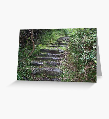 Stairs to somewhere Greeting Card