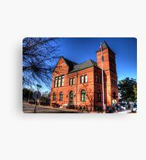 Murphy Building - Jefferson, Marion County, Texas Canvas Print