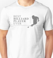 Billiard Cue Billiard Ball Snooker Pool Gift Unisex T-Shirt