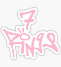 7 Ringe Sticker