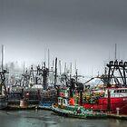 Yaquina Bay Oregon Coast by Charles & Patricia   Harkins ~ Picture Oregon