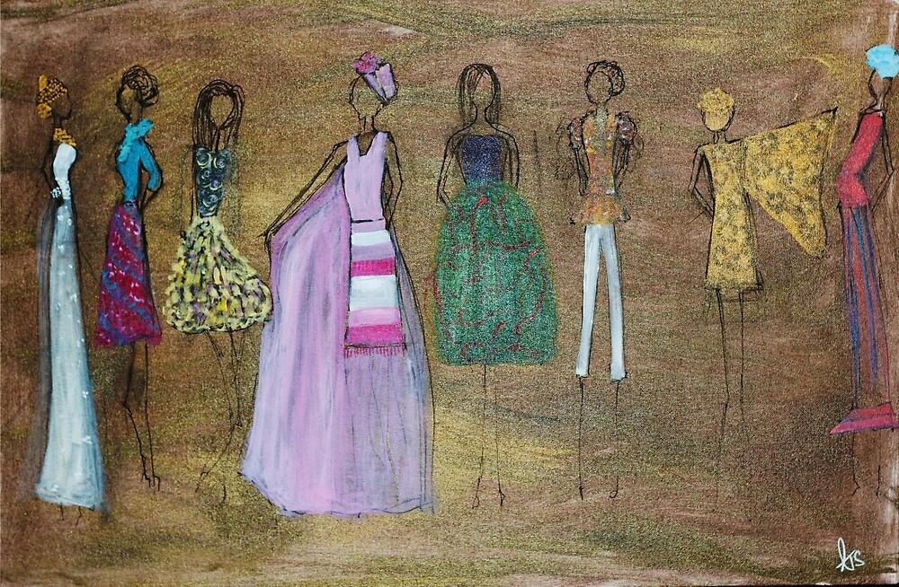 Fashion Runway by psalmscanvas