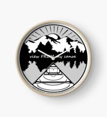 view FROM my canoe facebook group logo Clock