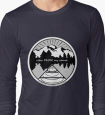 view FROM my canoe facebook group logo Long Sleeve T-Shirt