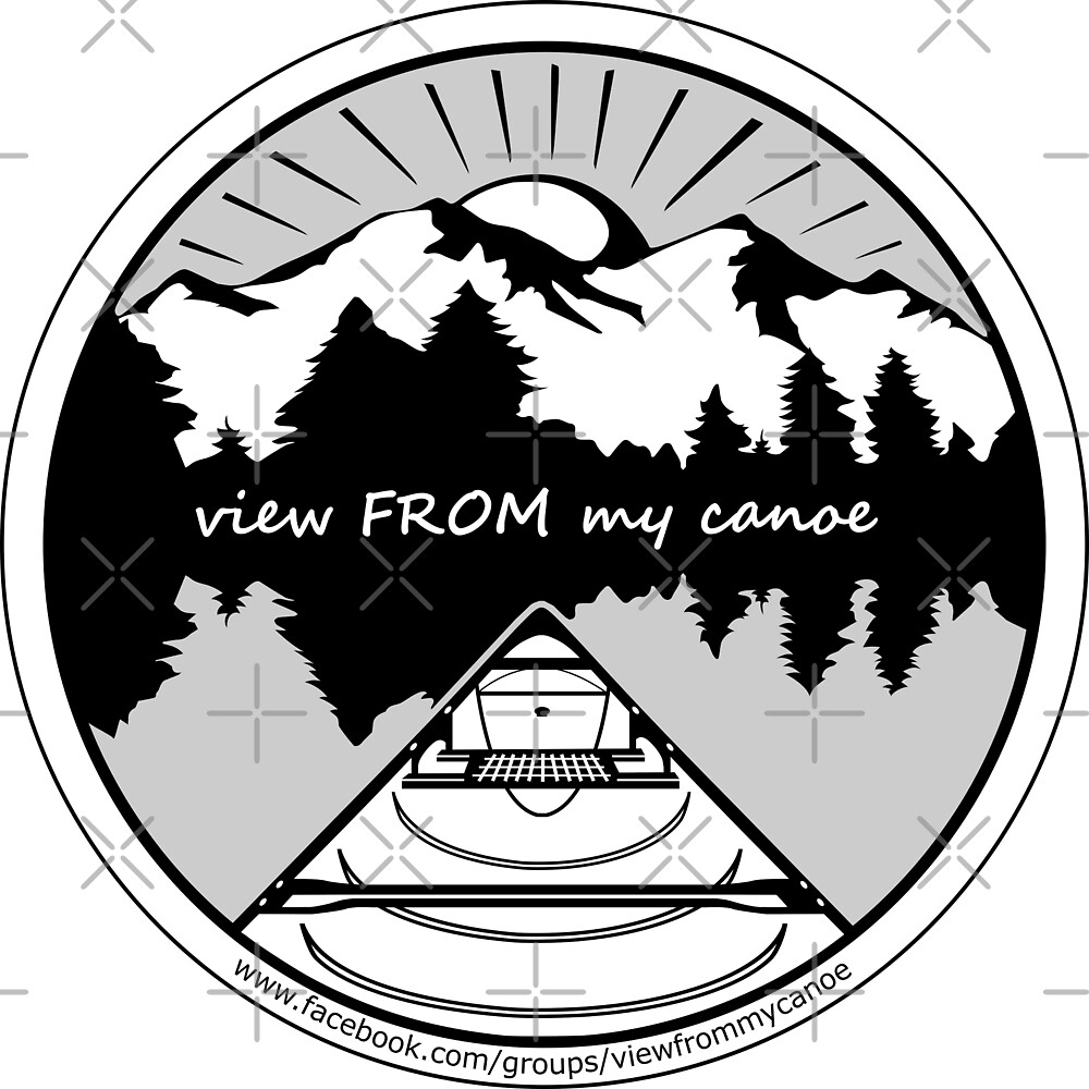 view FROM my canoe facebook group logo by CanYak