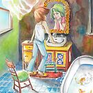 Mysterious Bathroom by sillysallymoon