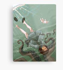 Falling, Drowning Metal Print