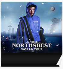 mosey lil tour northbest 2019 Poster