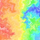 Rainbow marble  by DreamyDuvets