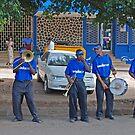 Brass Band, Moshi, Tanzania, Africa  by Adrian Paul