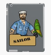 The Quintessential Sailor and his Polly iPad Case/Skin