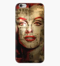 Rote Marilyn iPhone-Hülle & Cover