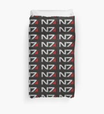 N7 Patch   Mass Effect Embroidered Patch Style Duvet Cover
